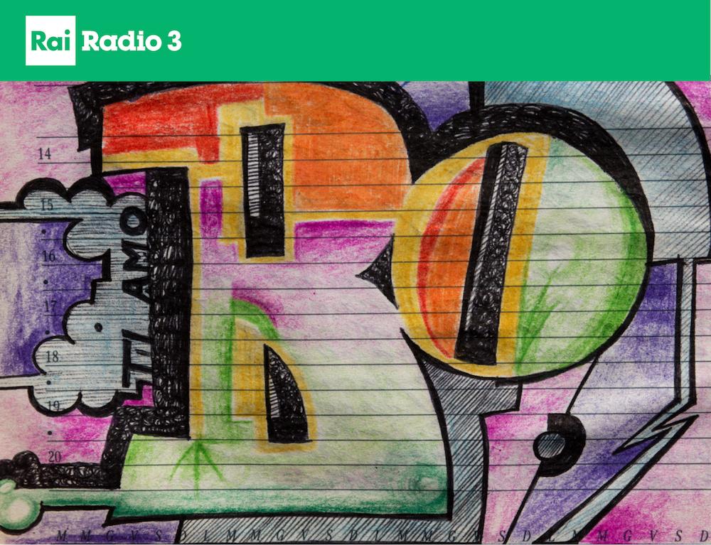 Diario 2020 su Radio 3 - foto di Luigi Burroni del diario di Linda Baldin